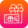 Gift Coupon Management Icon