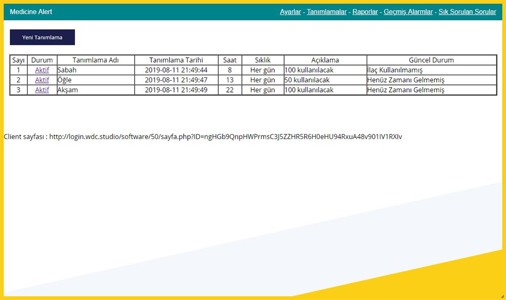 Medicine Alert Screenshots onizle1.png - WDC